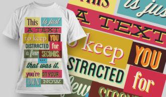 T-shirt Design 751 T-shirt Designs and Templates vector