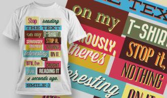 T-shirt Design 752 T-shirt Designs and Templates vector