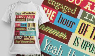 T-shirt Design 756 T-shirt Designs and Templates vector