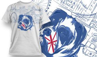 T-shirt Design 760 T-shirt Designs and Templates vector