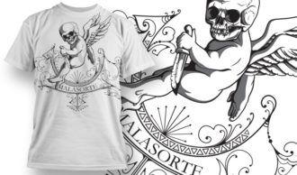 T-shirt Design 761 T-shirt Designs and Templates vector