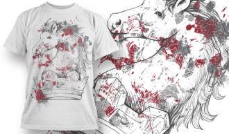 T-shirt Design 762 T-shirt Designs and Templates vector