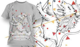 T-shirt Design 764 T-shirt Designs and Templates vector