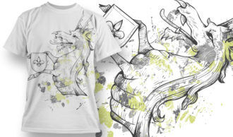 T-shirt Design 765 T-shirt Designs and Templates vector