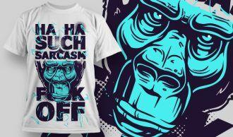 T-shirt Design 772 T-shirt Designs and Templates vector