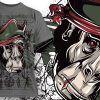 T-shirt Design 786 T-shirt Designs and Templates vector