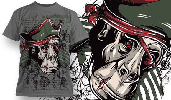T-shirt Design 785 T-shirt Designs and Templates vector
