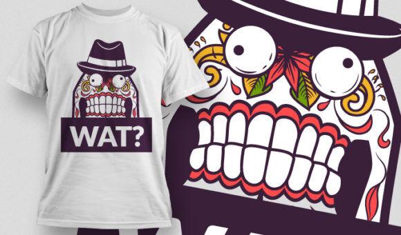 T-shirt Design 806 T-shirt Designs and Templates vector