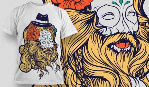T-shirt Design 809 T-shirt Designs and Templates vector