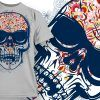 T-shirt Design 829 T-shirt Designs and Templates vector