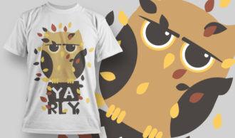 T-shirt Design 868 T-shirt Designs and Templates vector