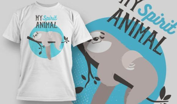 T-shirt Design 1153 T-shirt Designs and Templates vector