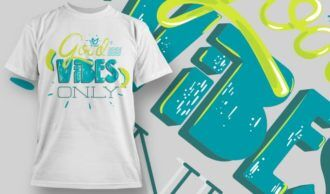 T-shirt Design 1161 T-shirt Designs and Templates vector