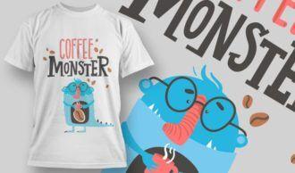 T-shirt Design 1162 T-shirt Designs and Templates vector