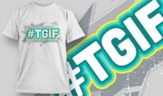 T-shirt Design 1165 T-shirt Designs and Templates vector