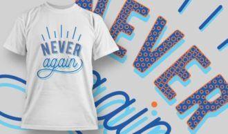 T-shirt Design 1181 T-shirt Designs and Templates vector