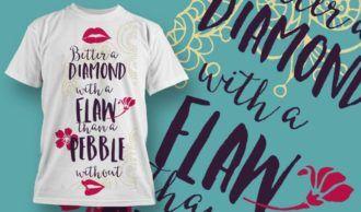 T-Shirt Design 1234 T-shirt Designs and Templates vector