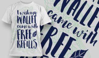 T-Shirt Design 1239 T-shirt Designs and Templates vector