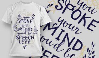 T-Shirt Design 1243 T-shirt Designs and Templates vector