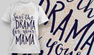 T-Shirt Design 1244 T-shirt Designs and Templates vector