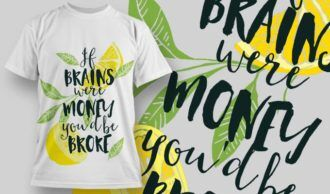 T-Shirt Design 1246 T-shirt Designs and Templates vector