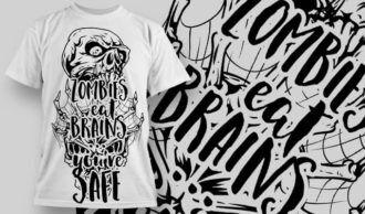 T-Shirt Design 1250 T-shirt Designs and Templates vector