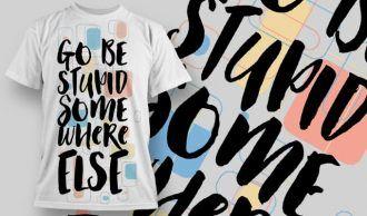 T-Shirt Design 1251 T-shirt Designs and Templates vector