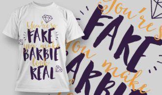 T-Shirt Design 1255 T-shirt Designs and Templates vector