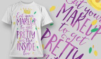 T-Shirt Design 1256 T-shirt Designs and Templates vector