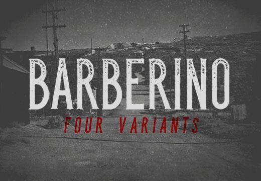 Barberino Font Family Fonts [tag]
