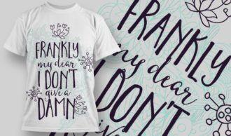 T-Shirt Design 1258 T-shirt Designs and Templates vector