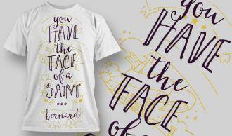 T-Shirt Design 1260 T-shirt Designs and Templates vector