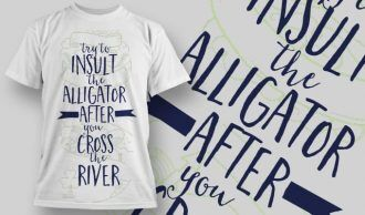 T-Shirt Design 1261 T-shirt Designs and Templates vector