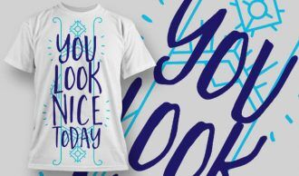 T-Shirt Design 1262 T-shirt Designs and Templates vector