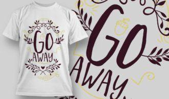 T-Shirt Design 1266 T-shirt Designs and Templates vector