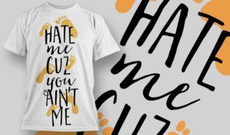 T-Shirt Design 1267 T-shirt Designs and Templates vector
