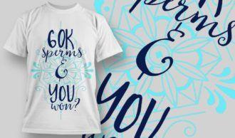 T-Shirt Design 1268 T-shirt Designs and Templates vector