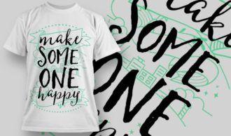 T-Shirt Design 1269 T-shirt Designs and Templates vector