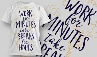 T-Shirt Design 1273 T-shirt Designs and Templates vector