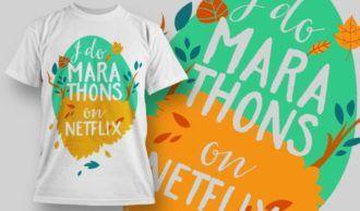 T-Shirt Design 1276 T-shirt Designs and Templates vector