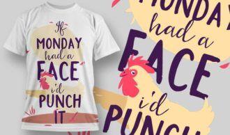 T-Shirt Design 1280 T-shirt Designs and Templates vector