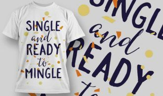 T-Shirt Design 1282 T-shirt Designs and Templates vector
