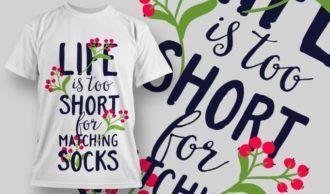 T-Shirt Design 1283 T-shirt Designs and Templates vector