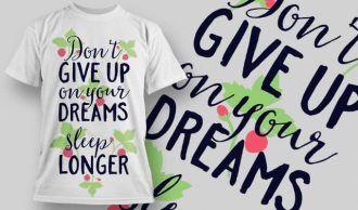 T-Shirt Design 1284 T-shirt Designs and Templates vector