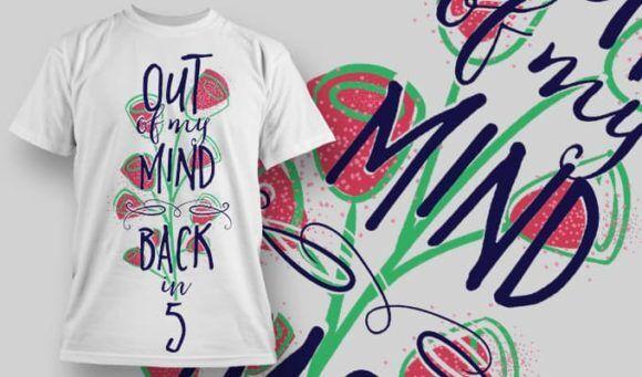 T-Shirt Design 1289 T-shirt Designs and Templates vector