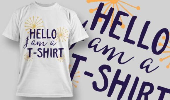 T-Shirt Design 1296 T-shirt Designs and Templates vector