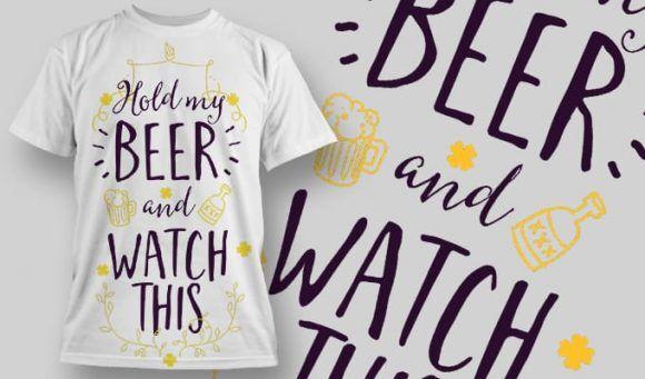 T-Shirt Design 1302 T-shirt Designs and Templates vector