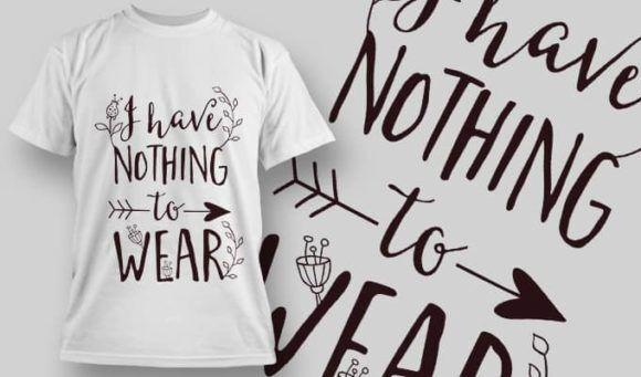 T-Shirt Design 1321 T-shirt Designs and Templates vector