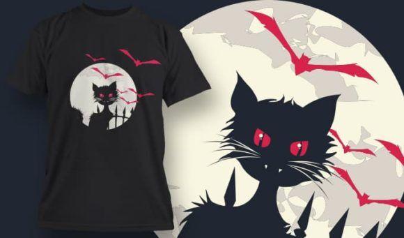 T-Shirt Design 1326 T-shirt Designs and Templates vector