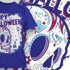 T-Shirt Design 1342 T-shirt Designs and Templates vector